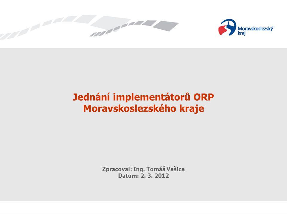 eGovernment Komunikační strategie Zpracoval: Ing.Tomáš Vašica 2 Impl.