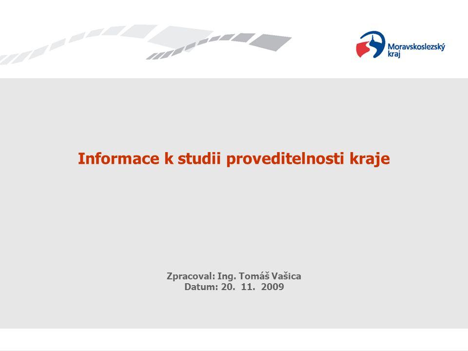 eGovernment Zpracoval: Ing. Tomáš Vašica 11 Datum: 17.