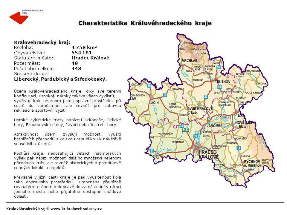Královéhradecký kraj © www.kr-kralovehradecky.cz Charakteristika Královéhradeckého kraje Území Královéhradeckého kraje, díky své terénní konfiguraci,
