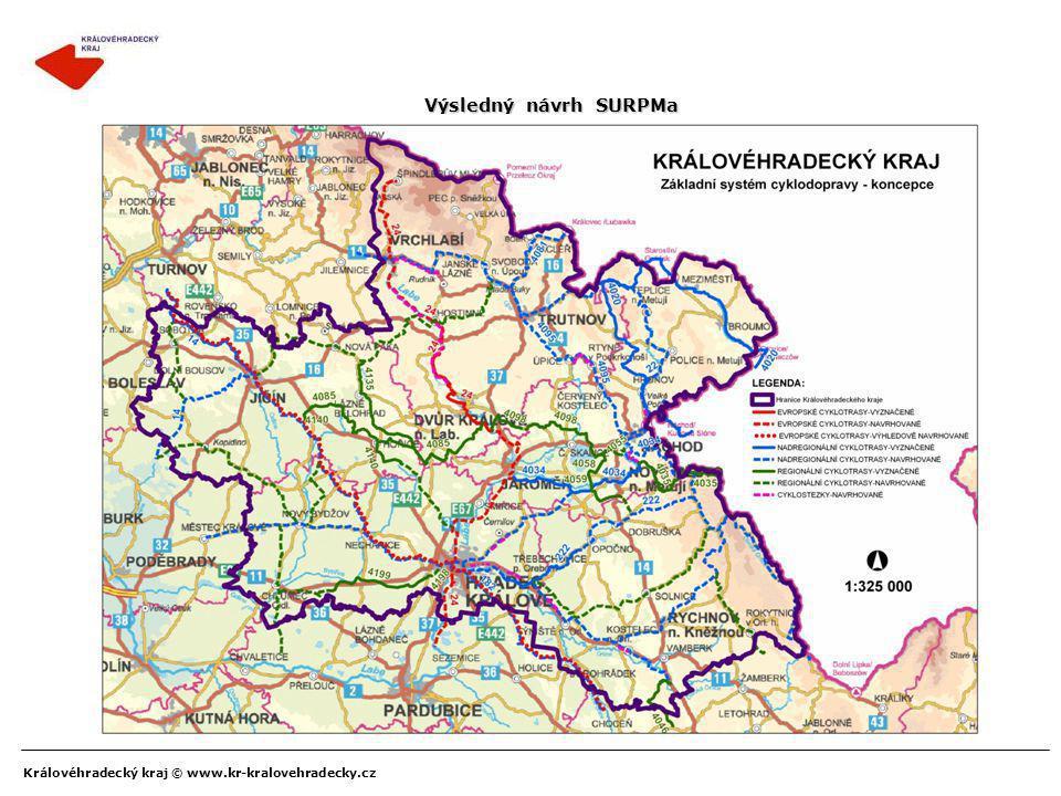 Královéhradecký kraj © www.kr-kralovehradecky.cz Výsledný návrh SURPMa
