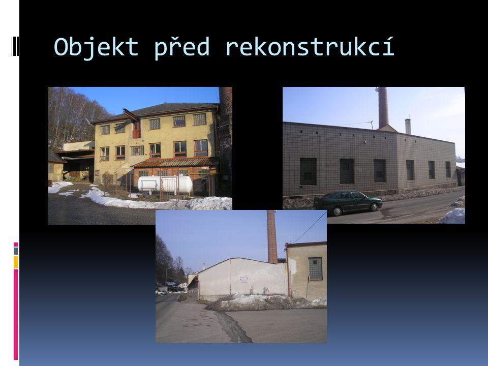 Objekt před rekonstrukcí