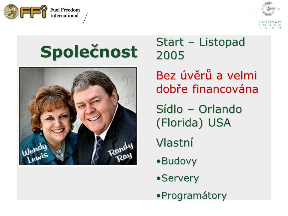 Společnost Start – Listopad 2005 Bez úvěrů a velmi dobře financována Sídlo – Orlando (Florida) USA Vlastní BudovyBudovy ServeryServery ProgramátoryProgramátory