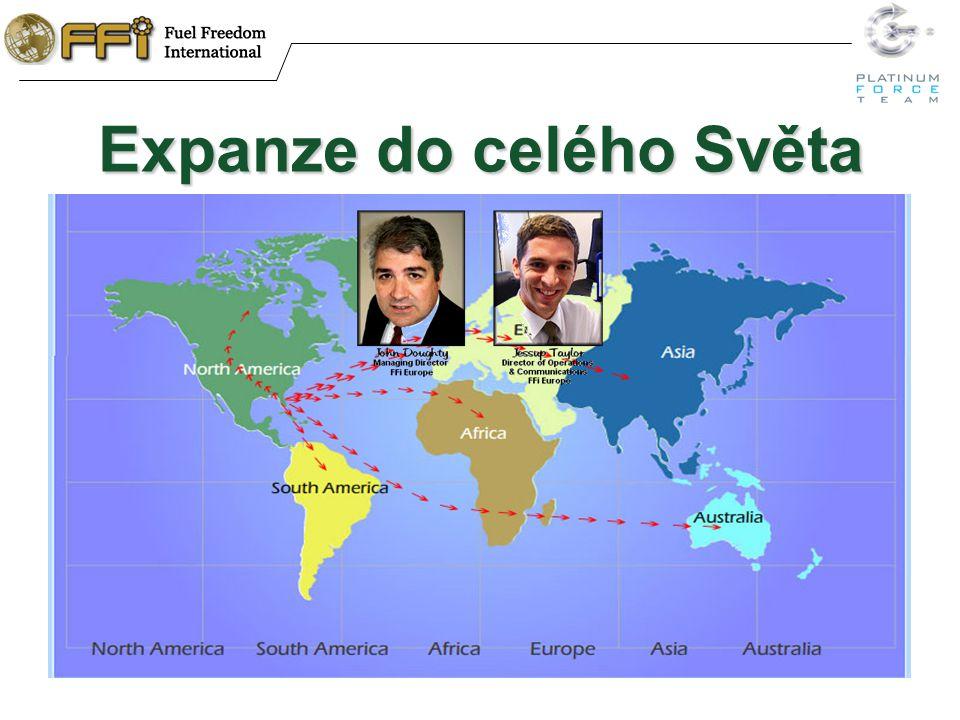 Expanze do celého Světa