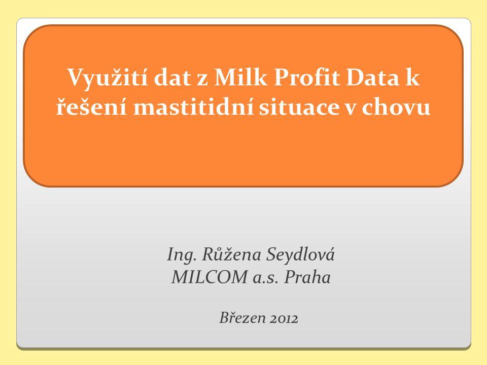 Ing. Růžena Seydlová MILCOM a.s.