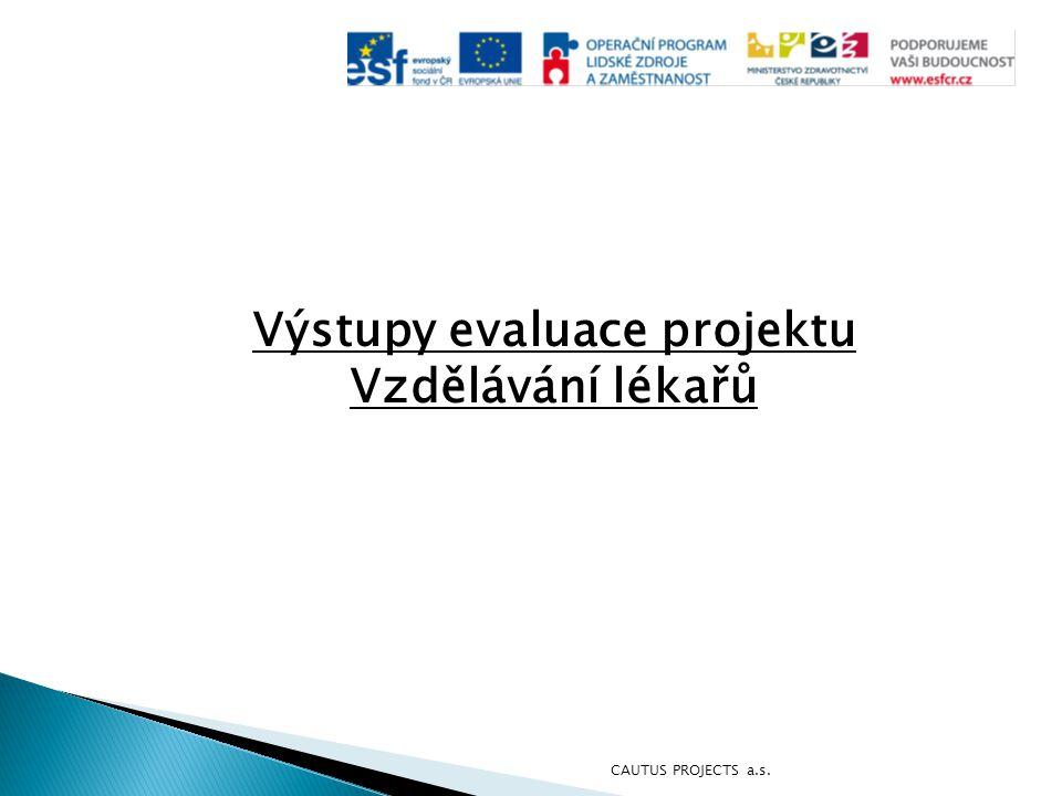 Výstupy evaluace projektu Vzdělávání lékařů