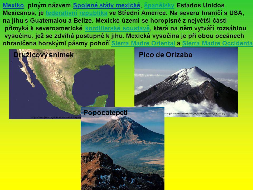 Mexiko, plným názvem Spojené státy mexické, španělsky Estados Unidosšpanělsky Mexicanos, je federativní republika ve Střední Americe. Na severu hranič