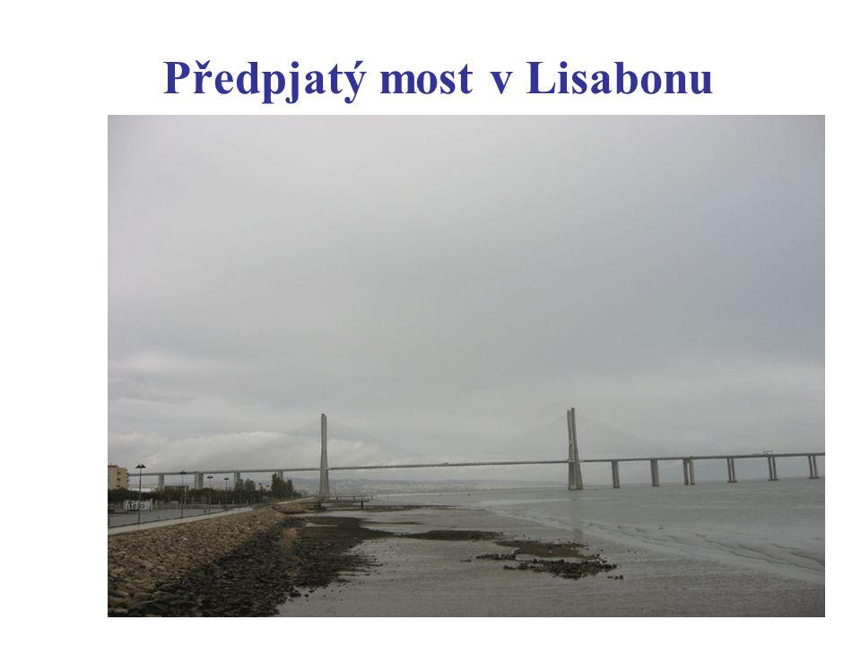 Předpjatý most v Lisabonu