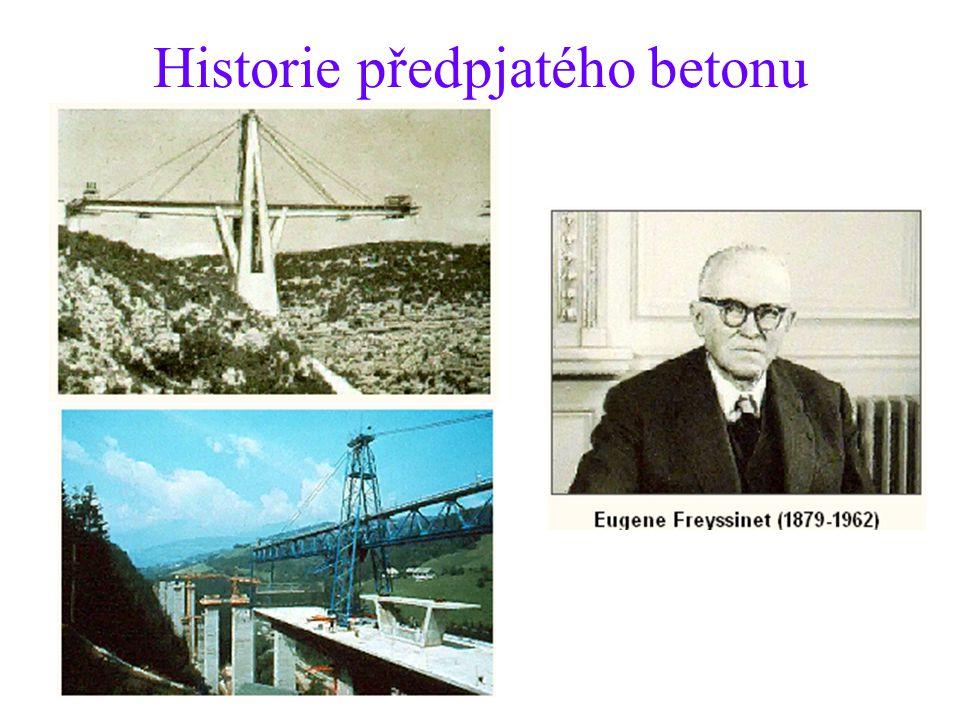 Historie předpjatého betonu
