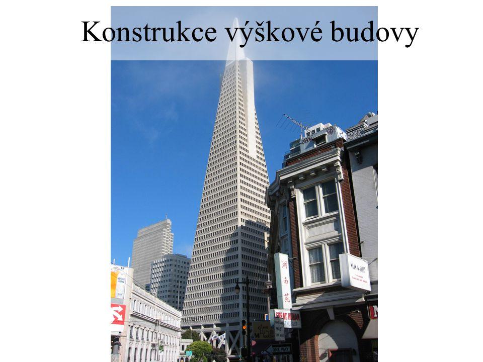Konstrukce výškové budovy