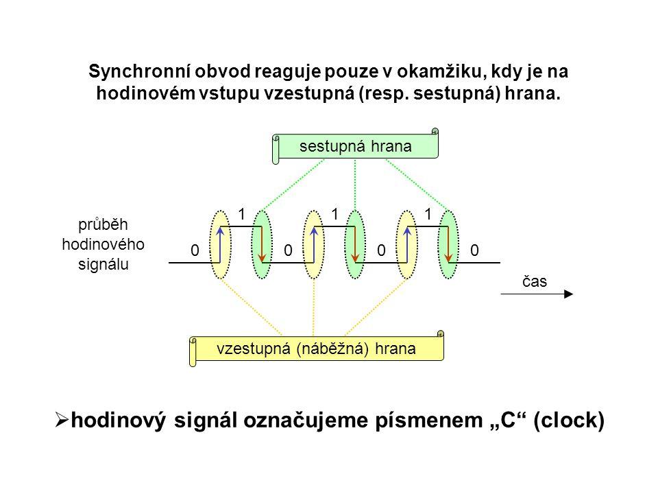 Klopný obvod JK JK klopný obvod funguje podobně jako RS, jen je synchronní, tzn.