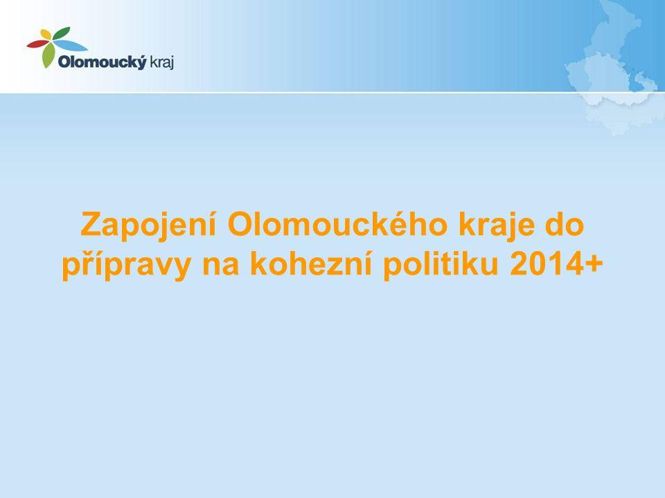 Zapojení Olomouckého kraje do přípravy na kohezní politiku 2014+