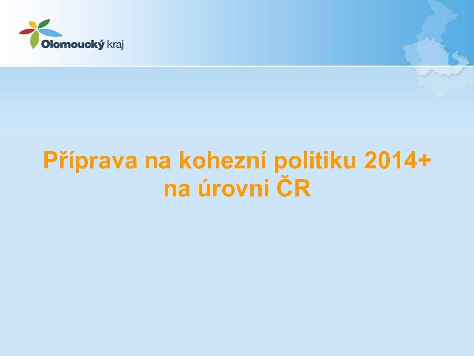 Vymezení operačních programů pro programové období 2014-2020 – schváleno Vládou ČR dne 28.