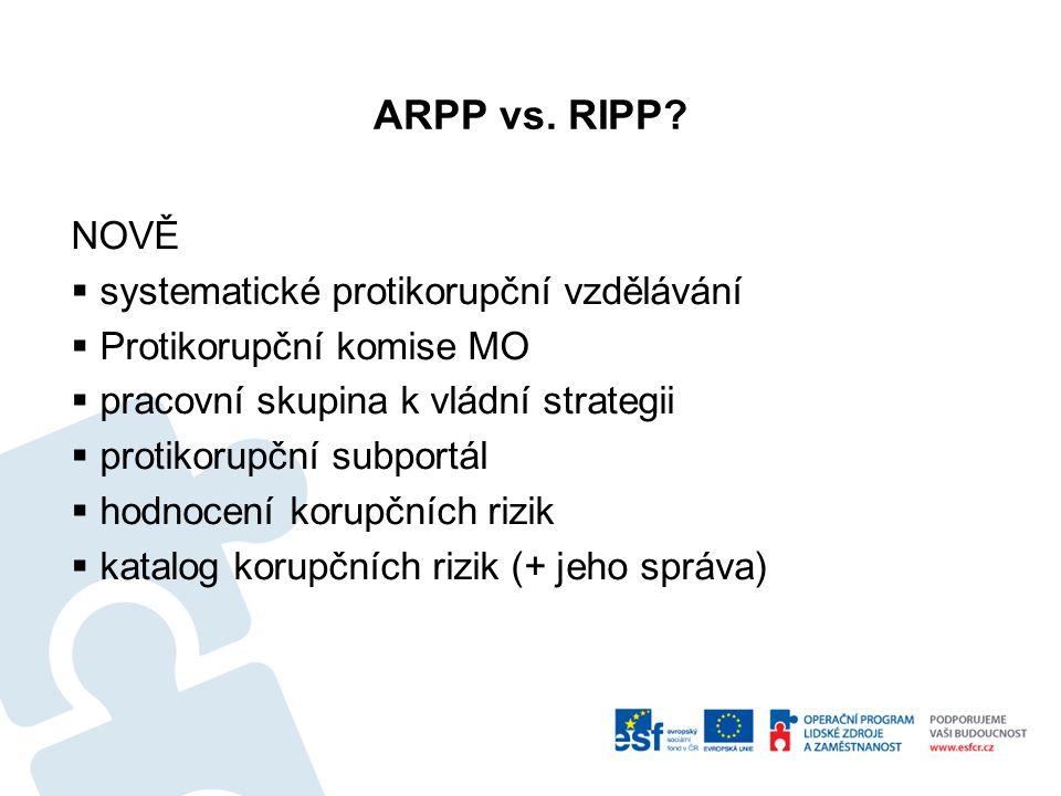 ARPP vs.RIPP.
