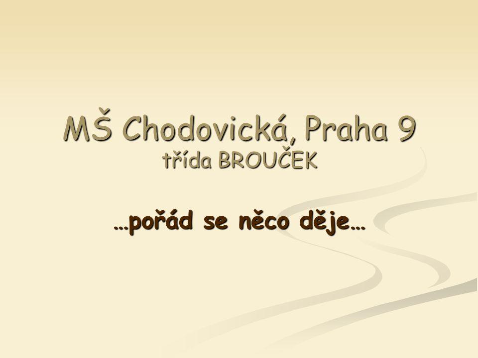 MŠ Chodovická, Praha 9 třída BROUČEK …pořád se něco děje…