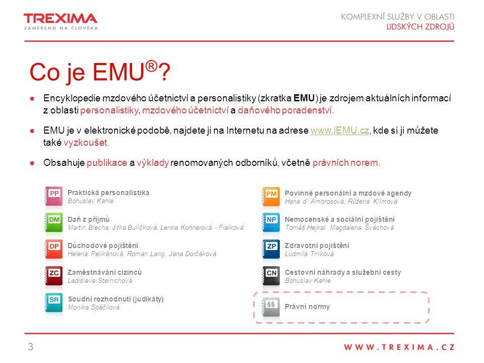 Co je EMU ® .