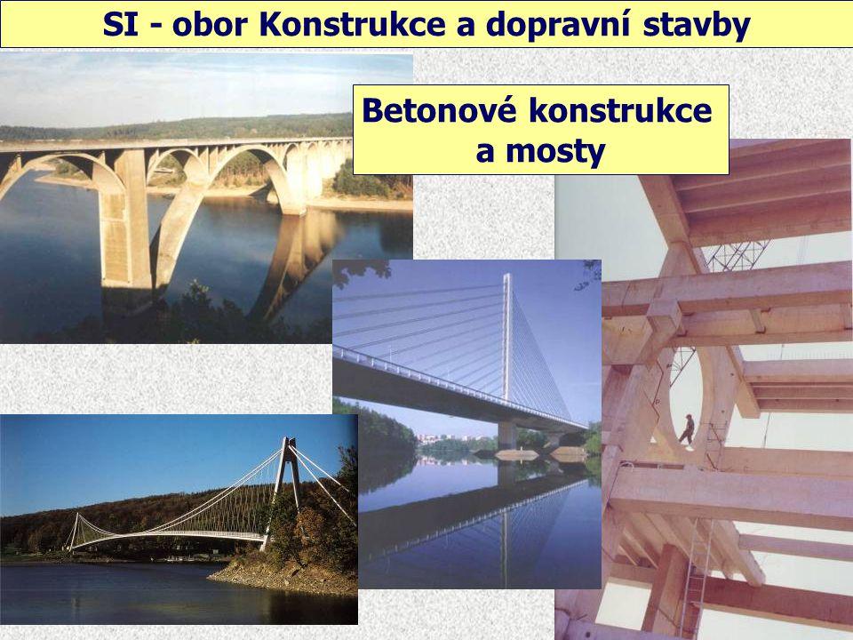 SI - obor Konstrukce a dopravní stavby Ocelové konstrukce a mosty