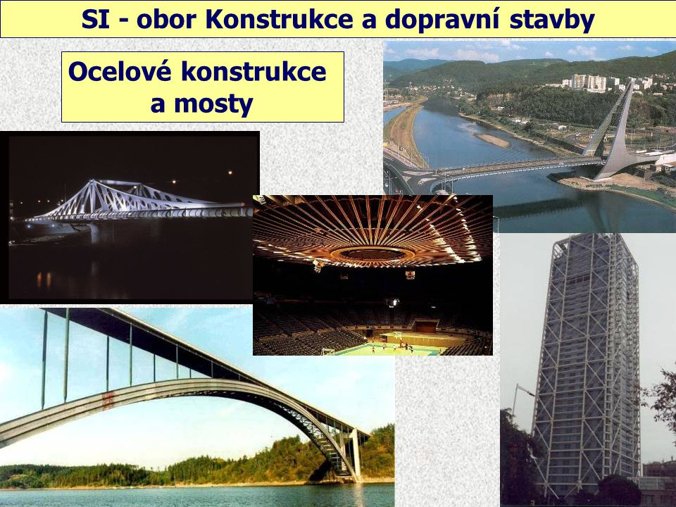 SI - obor Konstrukce a dopravní stavby Dřevěné konstrukce