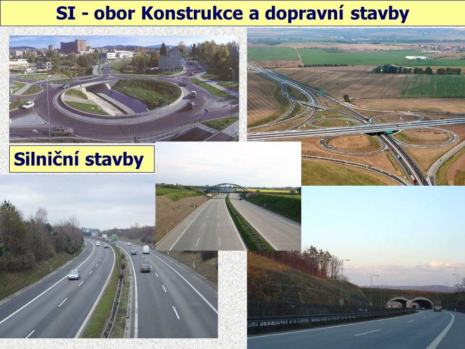 SI - obor Konstrukce a dopravní stavby Železniční stavby