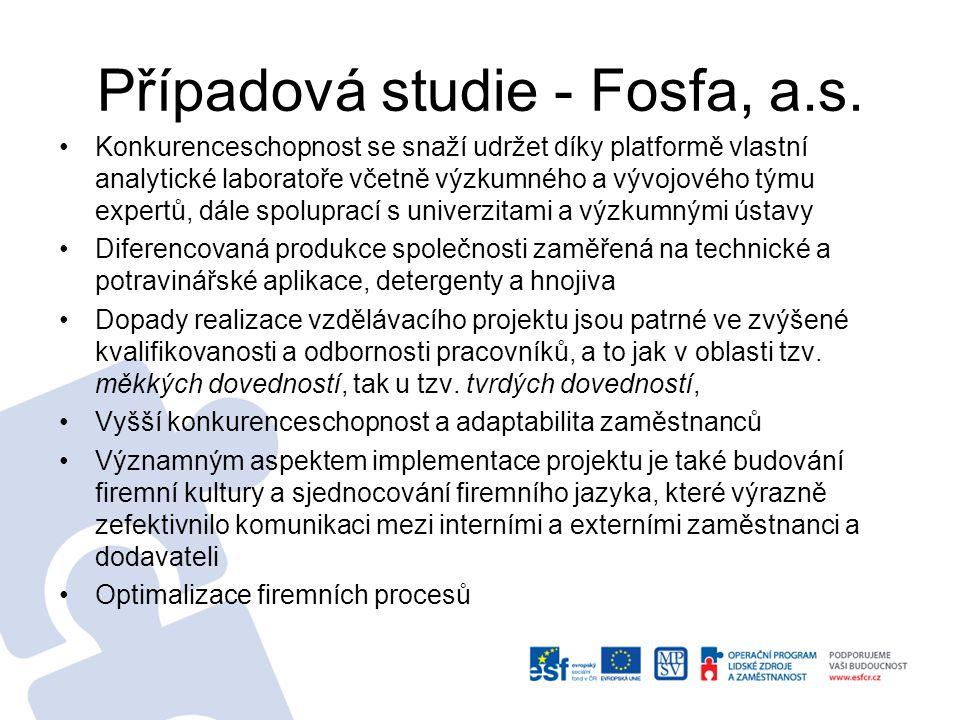 Případová studie - Fosfa, a.s.
