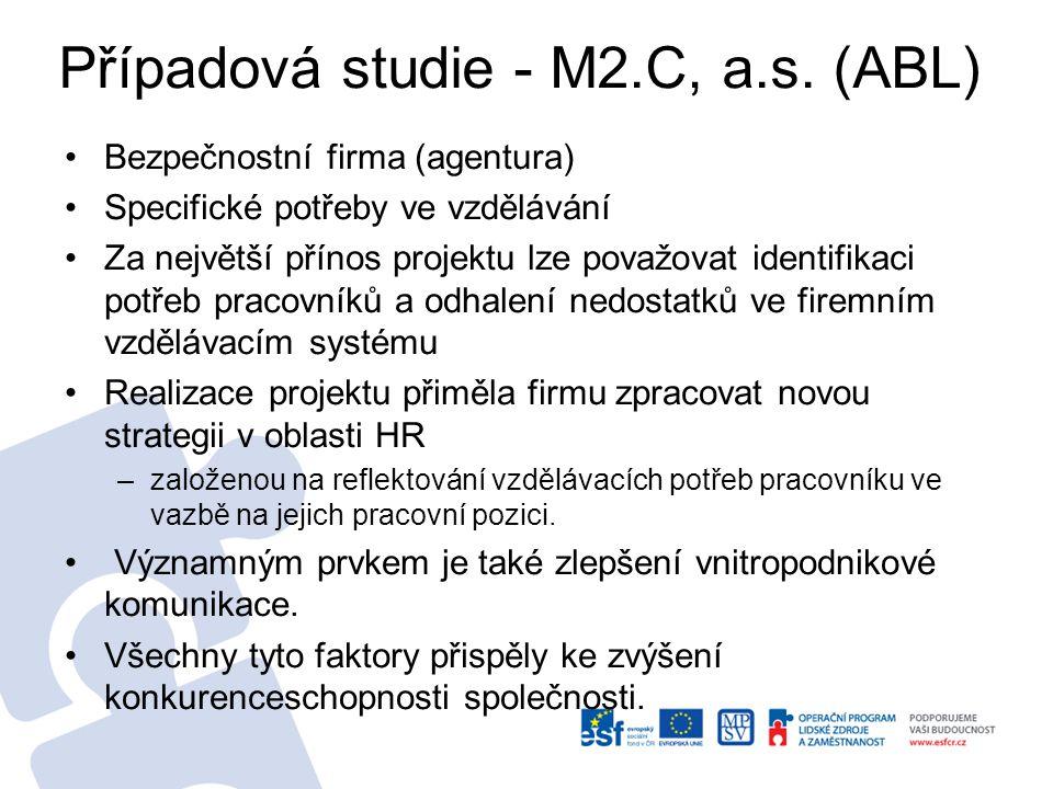Případová studie - M2.C, a.s.