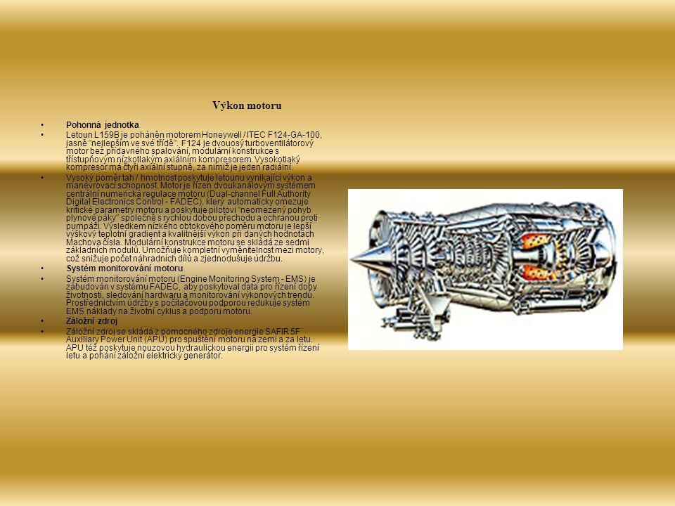 Vnější rozměry: Rozpětí křídel Délka, celková Výška celková 9.54 m 12.72 m 4.87 m 31 ft 3 in 41 ft 8 in 16 ft Hmotnosti: Hmotnost prázdného letounu Maximální hmotnost na stojánce Maximální hmotnost paliva - Hmotnost paliva ve vnitřních nádržích - Hmotnost paliva ve vnějších nádržích Podvěsy - maximum 4,350 kg 8,000 kg 1,320 kg 1,620 kg 2,700 kg 9,590 Ib 17,637 Ib 2,910 Ib 3,571 Ib 5,952 Ib Výkon: Maximální vodorovná rychlost v nulové nadmořské výšce 936 km/h505 KTAS Pohonná jednotka: Jeden motor 28 kN (6,300 lbst) Honeywell/ITEC F124-GA-100 Military Turbofan Engine Vojenský turboventilátorový motor Konstrukční činitel přetížení: Maximální konstrukční meze +8g-4g