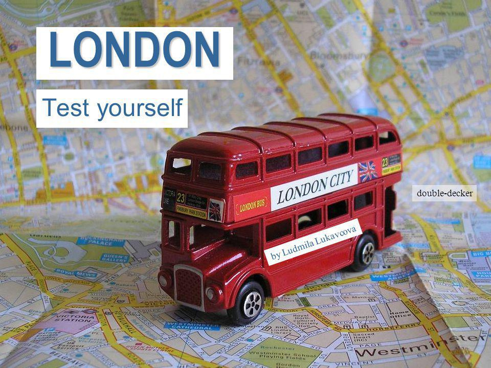 Přejít na první stránkuLONDON Test yourself by Ludmila Lukavcova double-decker