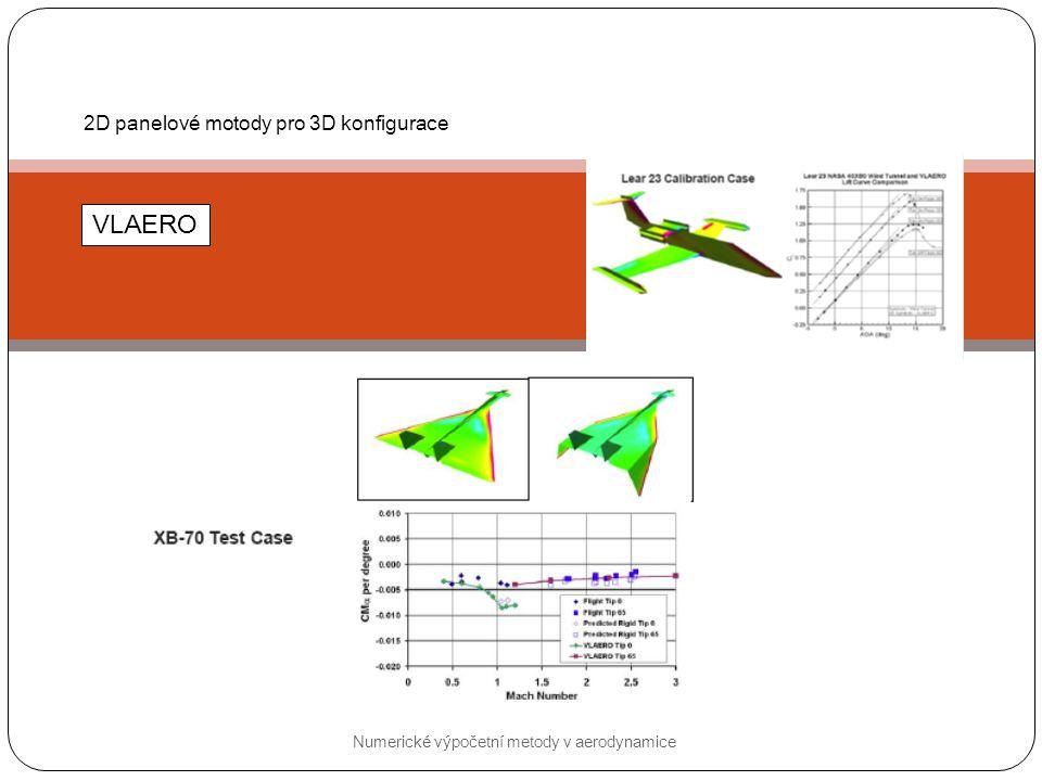 Numerické výpočetní metody v aerodynamice 3D panelové metody VSAERO