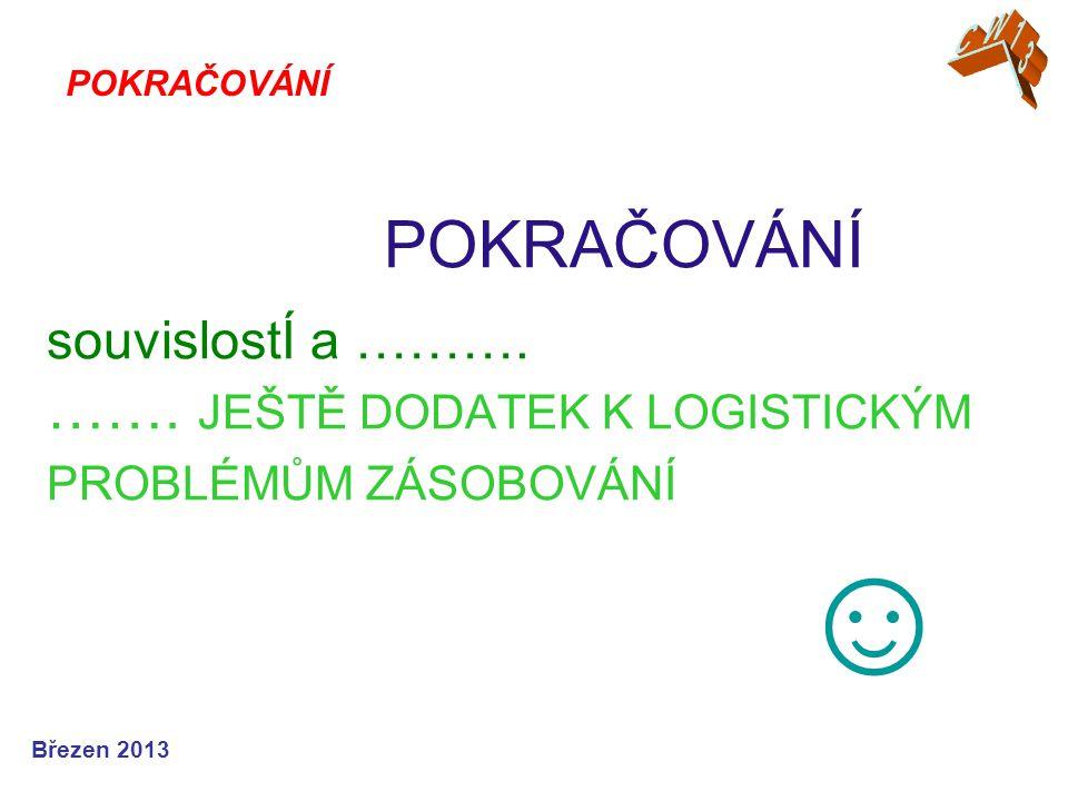 Logistika a …….