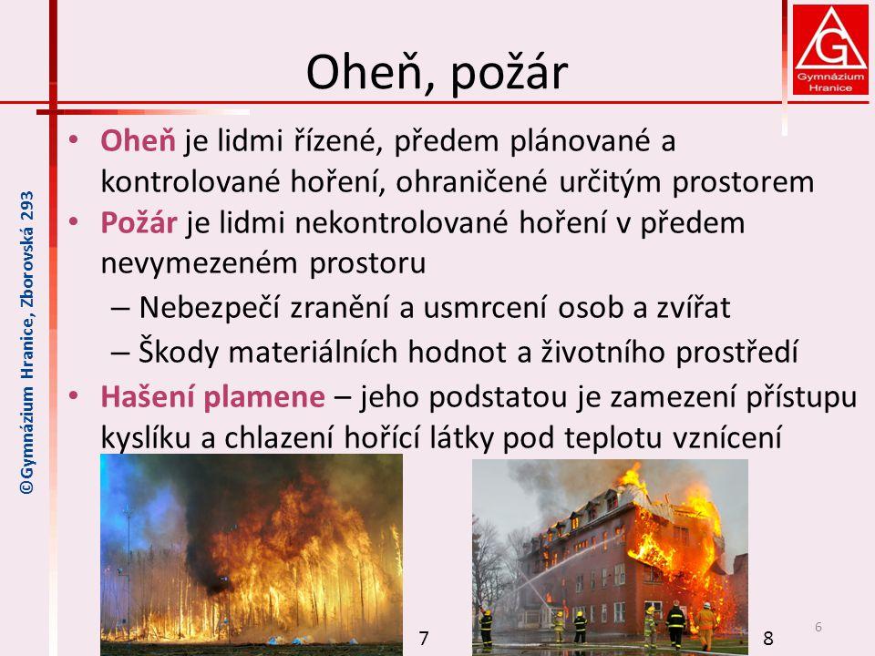 Chování v případě požáru Co dělat v případě požáru.