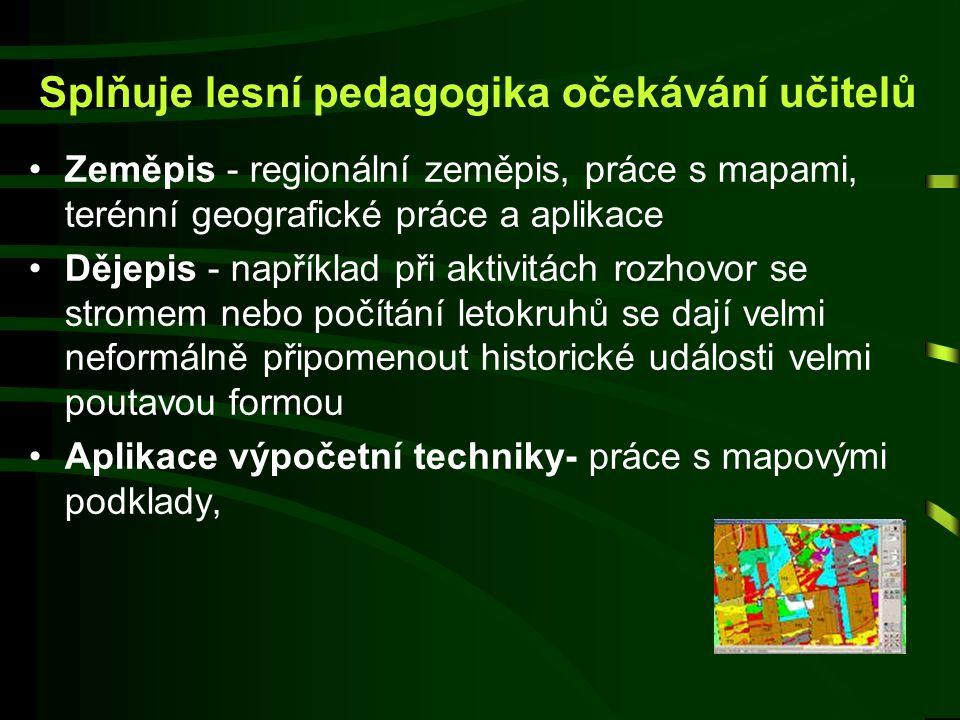 Splňuje lesní pedagogika očekávání dětí Chtějí jít do aktivit s vášní a dychtivostí, potřebují být přijímáni a zažívat v činnostech pocit štěstí, příj