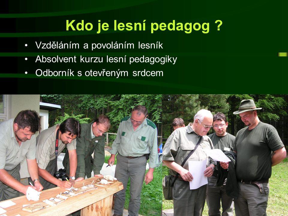 16. září 2014Lesní pedagogika3  Potřeba obnovy a regenerace prostřednictvím přírody stoupá stejnou měrou jakou se všední život od přírody vzdaluje; 
