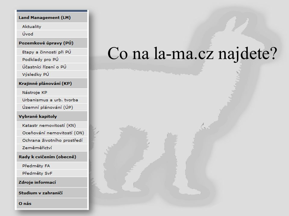 Co na la-ma.cz najdete