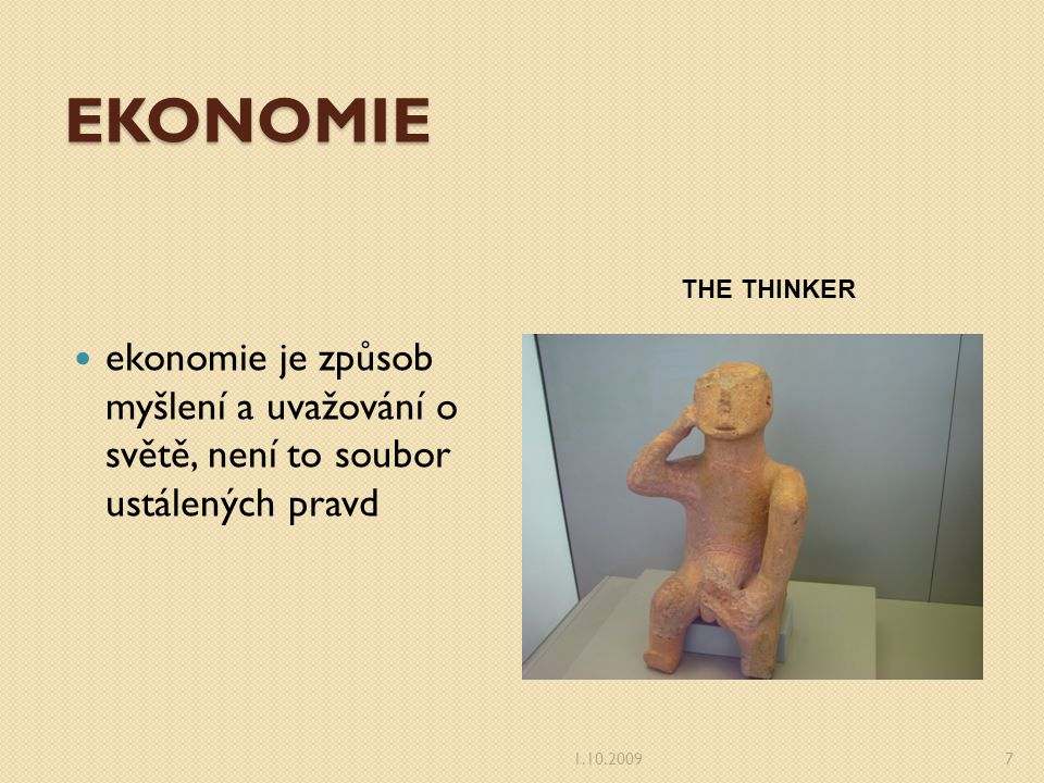 TRH V EKONOMII Trh je v ekonomice prostor, kde dochází ke směně statků a peněz.