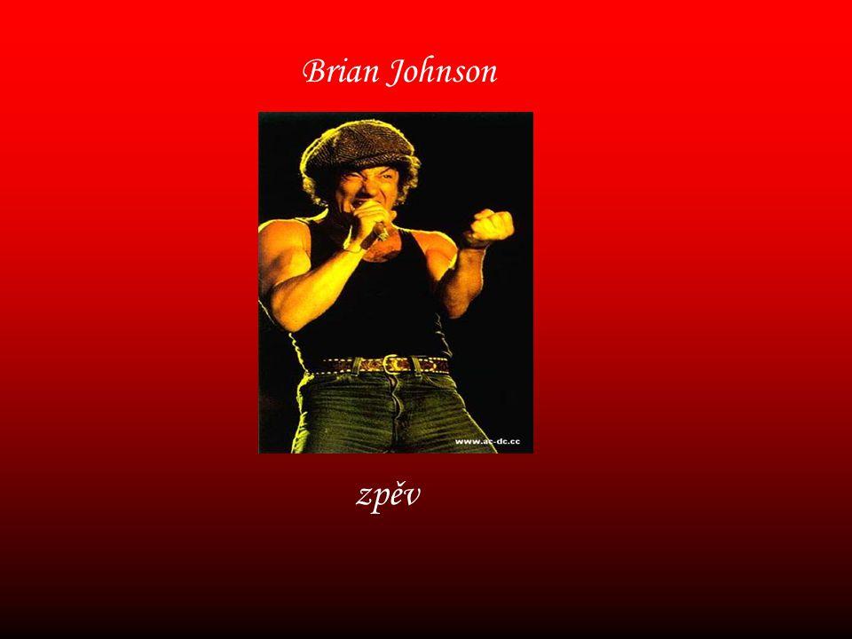 Brian Johnson zpěv