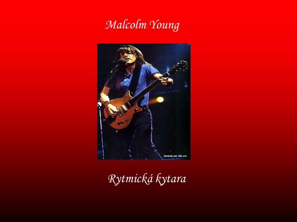 Malcolm Young Rytmická kytara