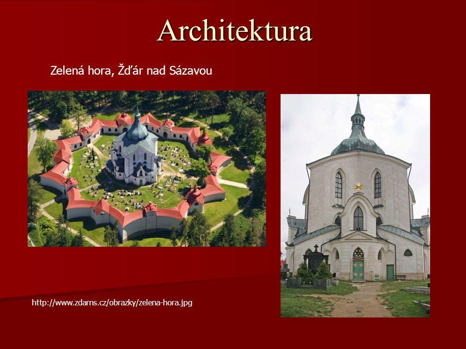 Architektura Zelená hora, Žďár nad Sázavou http://www.zdarns.cz/obrazky/zelena-hora.jpg