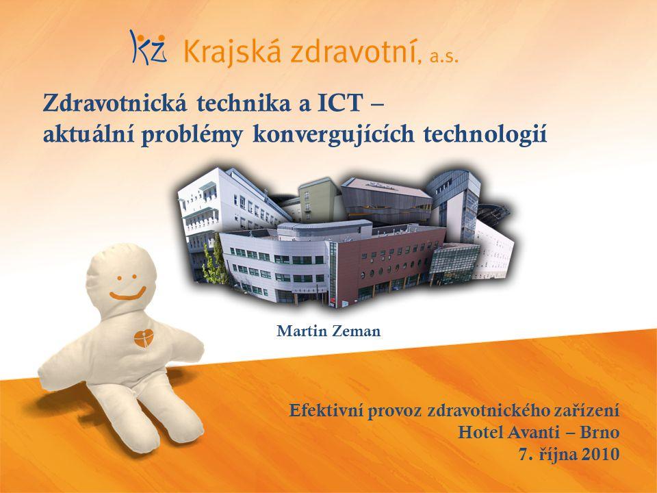 Efektivní provoz zdravotnického za ř ízení Hotel Avanti – Brno 7.