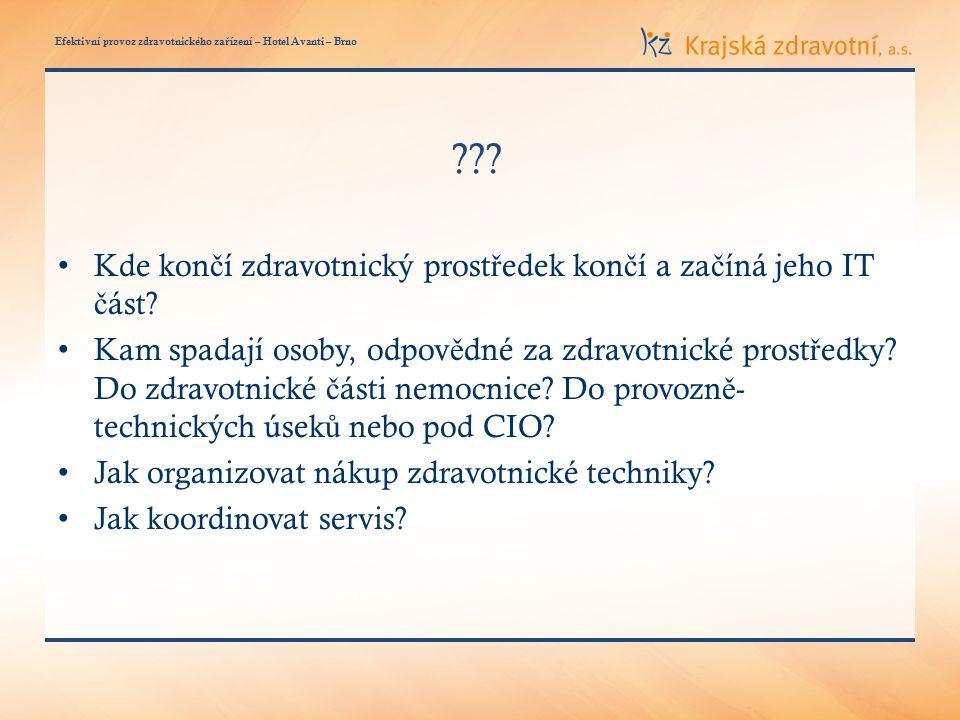 Efektivní provoz zdravotnického za ř ízení – Hotel Avanti – Brno ??.