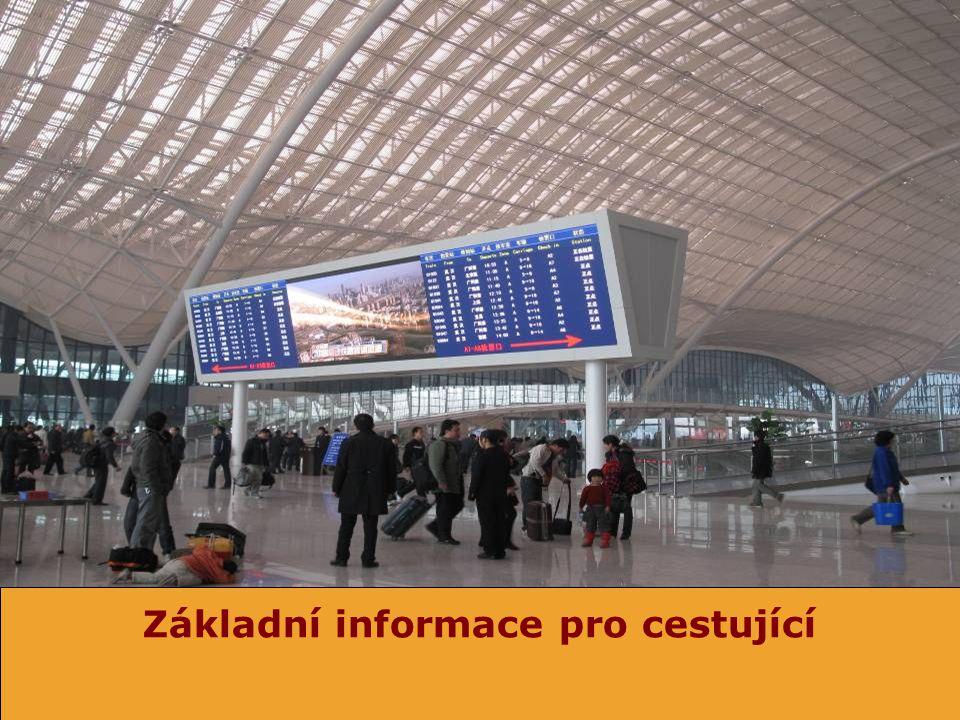 Základní informace pro cestující