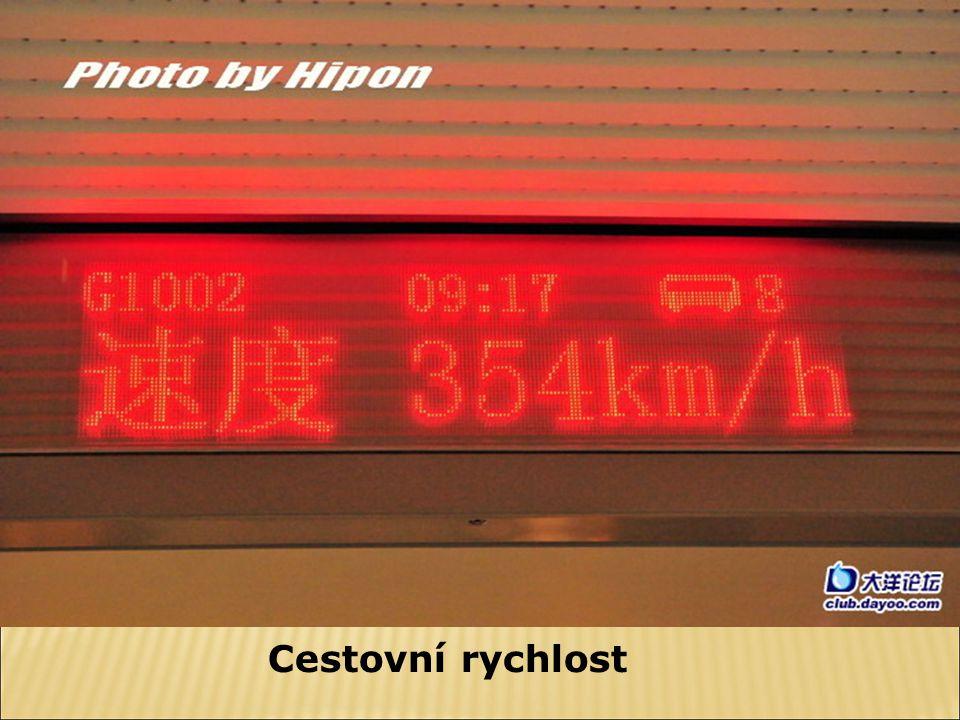 Cestovní rychlost