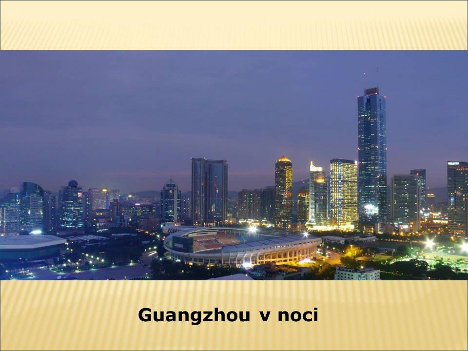 Guangzhou v noci