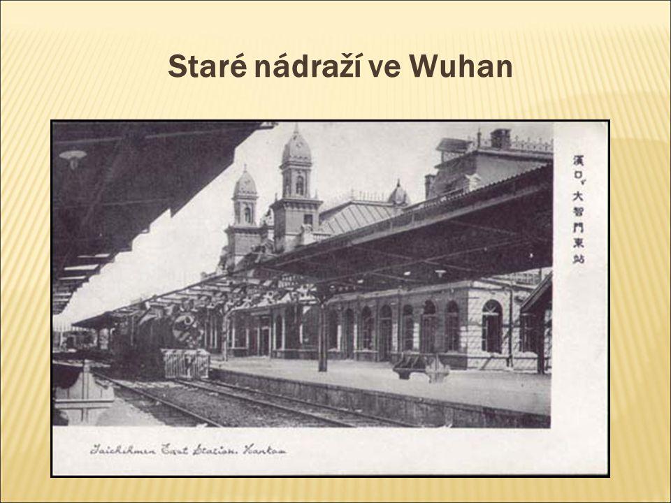 Staré nádraží ve Wuhan