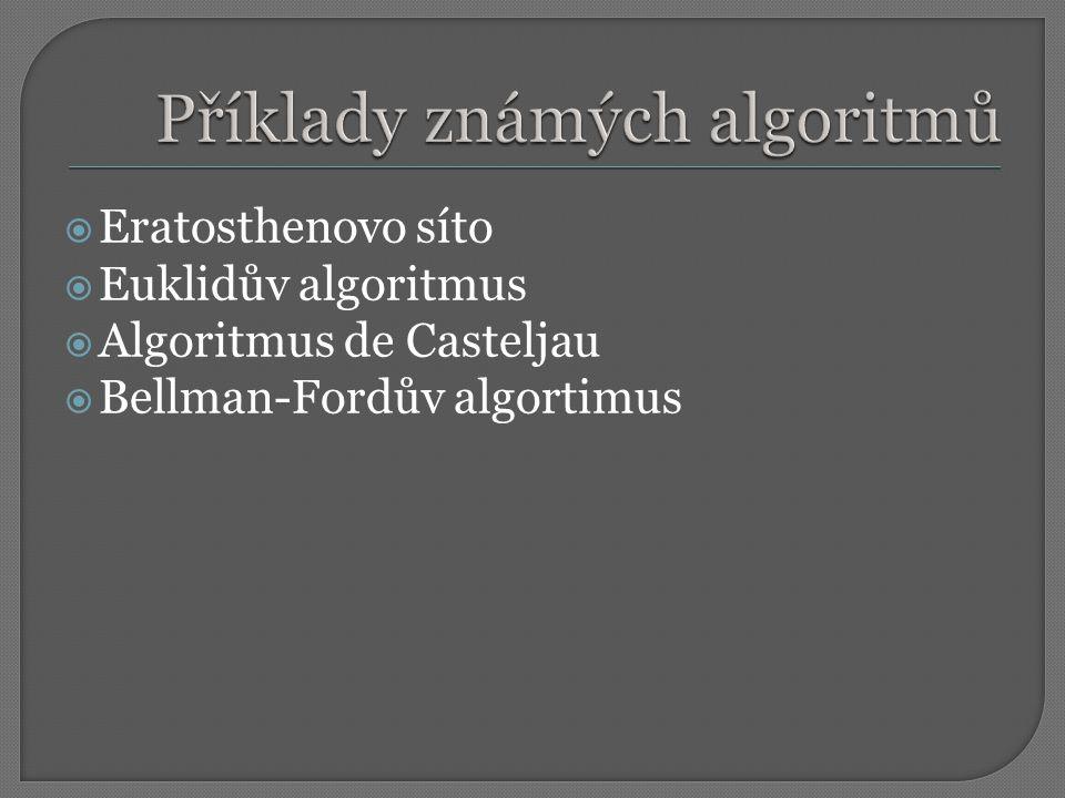  Prostředek pro zápis algoritmů, jenž mohou být prováděny na počítači  Zápis algoritmu v programovacím jazyku se nazývá program  Programovací jazyk – soubor pravidel pro zápis algoritmu  Programovací jazyk má svoji syntaxi a sémantiku (množina slov)