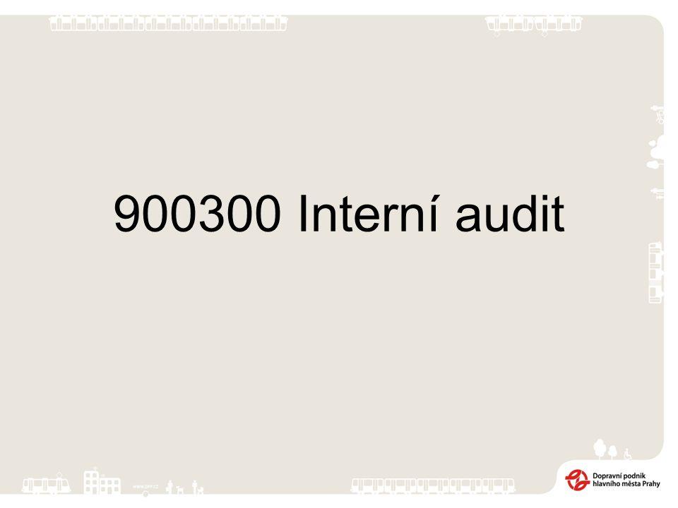 900300 Interní audit