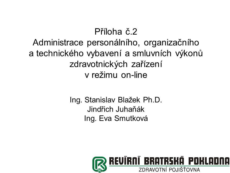 Cíl projektu Zjednodušení agendy pro uzavírání a aktualizaci smluvních vztahů Nabídnout poskytovatelům zdravotních služeb nástroj Uživatelsky přívětivý Zabezpečující konzistenci dat Respektující dohodnuté standardy (VZP) Vycházející z požadavků PZS a ZP Bez finančních požadavků na uživatele Zabudované kontroly zefektivňující komunikaci Portál ZP umožňuje administraci všech zdravotních pojišťoven (i neportálových) v jednom formuláři.