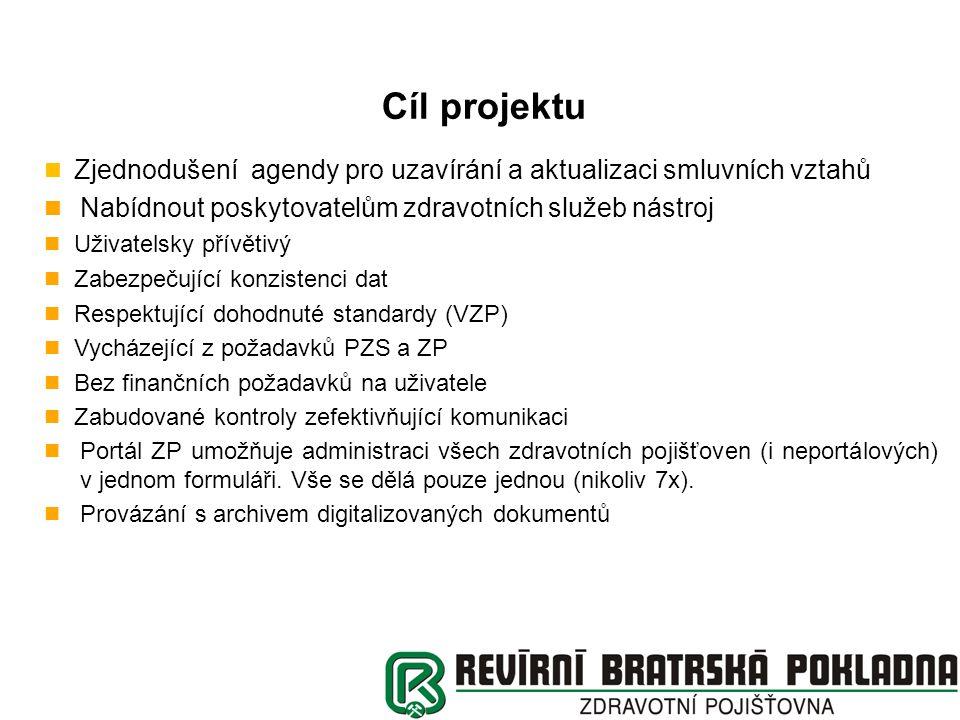 Podmínky k využití Společného portálu ZP pro administraci P2 Přístup do Společného portálu ZP http://www.portalzp.czhttp://www.portalzp.cz P2 - https://www.portalzp.cz/clogc00prv.phtml?pzp_sign=ActiveXhttps://www.portalzp.cz/clogc00prv.phtml?pzp_sign=ActiveX Autentizace pomocí kvalifikovaného, komerčního certifikátu TECHNICKÁ HELPLINKA 608 984 498, 773 984 498 Přístupová práva pro administraci Přílohy 2 https://www.portalzp.cz/public/povereni_p2.doc https://www.portalzp.cz/public/povereni_p2.doc Kontakty na administrátory RBP pro nastavení přístupových práv pouze pro RBP (nejprve nutno zaslat Pověření v písemné formě) 596 256 235, 596 256 236 Příručka k administrace Přílohy 2 je přímo na Portálu ZP http://www.portalzp.cz/download/Prirucka%20Portalu%20ZP%20-%20P2.pdf http://www.portalzp.cz/download/Prirucka%20Portalu%20ZP%20-%20P2.pdf Odborné dotazy směrovat na smluvní oddělení RBP