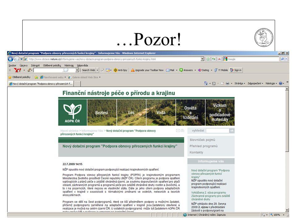 MZLU Brno …Pozor! 22