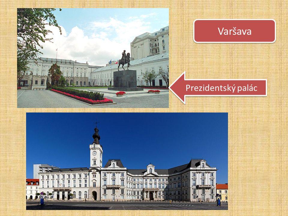 Varšava Prezidentský palác