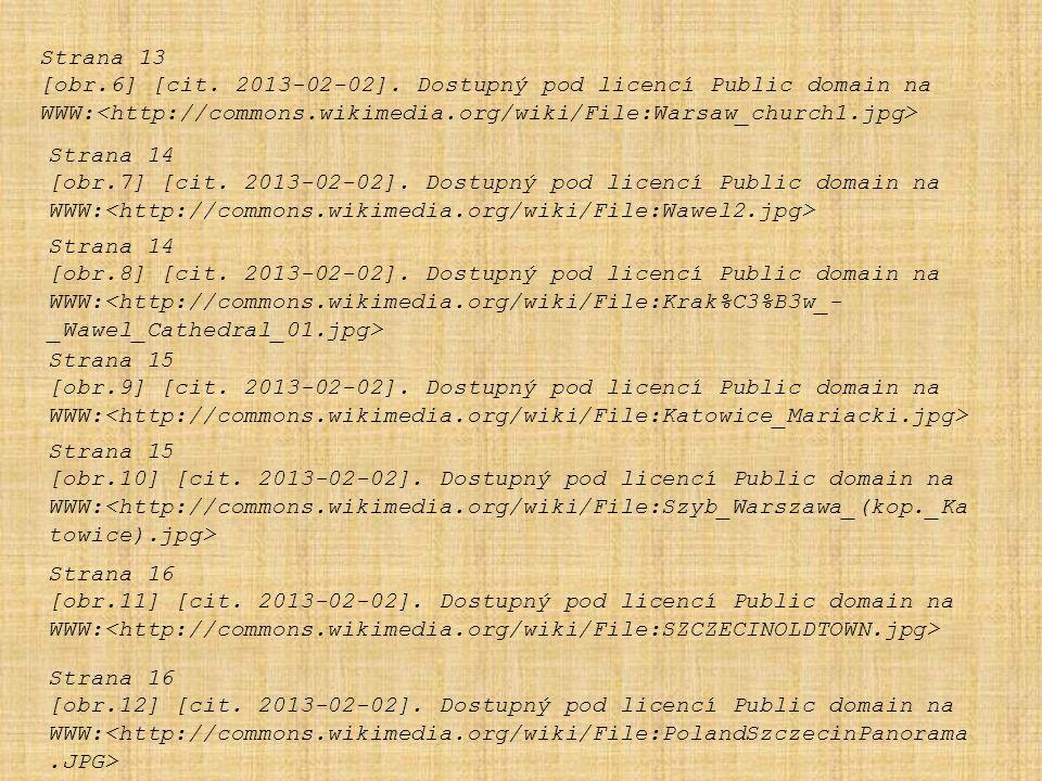 Strana 13 [obr.6] [cit. 2013-02-02]. Dostupný pod licencí Public domain na WWW: Strana 14 [obr.7] [cit. 2013-02-02]. Dostupný pod licencí Public domai