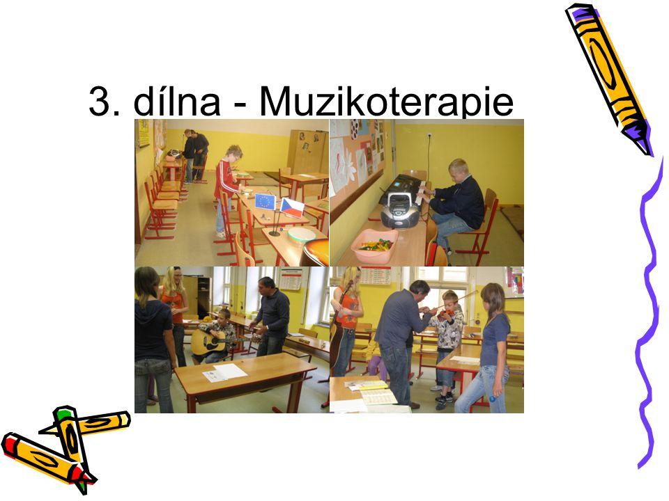 3. dílna - Muzikoterapie